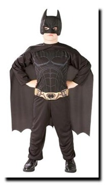 disfraz de batman niño