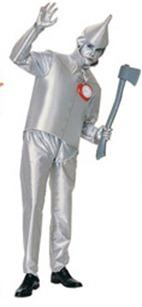 disfraz de mago de oz hombre de hojalata