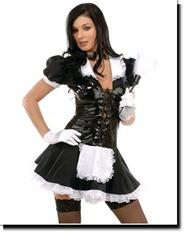 disfraz de sirvienta francesa