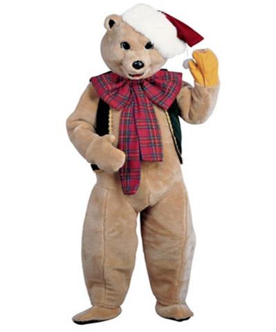 disfraz para navidad de oso